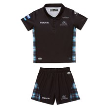 Glasgow Warriors Home Kids Rugby Kit 2018