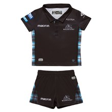 Glasgow Warriors Home Baby Rugby Kit 2018