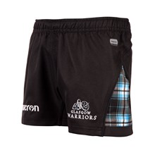 Glasgow Warriors Home Rugby Shorts Kids 2018