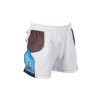 Glasgow Warriors Alternate Rugby Shorts Kids 2017 - Front 1