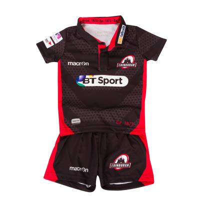 Edinburgh Home Baby Rugby Kit 2017 - Front