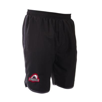 Edinburgh Microfibre Swim Shorts Black 2017 - Front 1