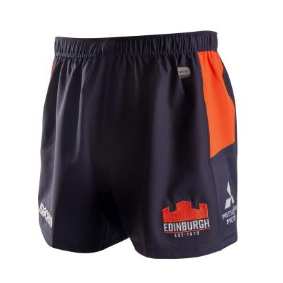 Edinburgh Home Rugby Shorts 2019 - Front