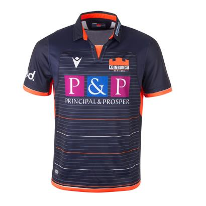 Edinburgh Home Rugby Shirt S/S Kids 2020 - Front