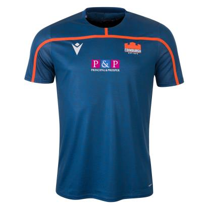 Edinburgh Training Tee Navy 2020 - Front
