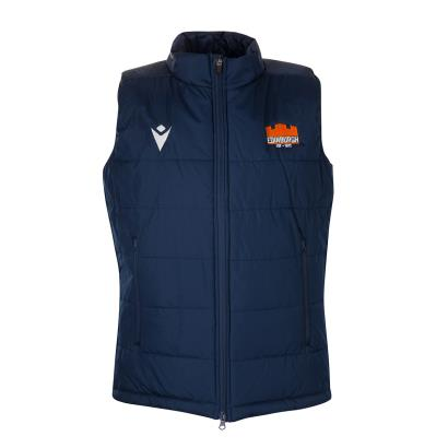 Edinburgh Travel Padded Gilet Navy 2020 - Front