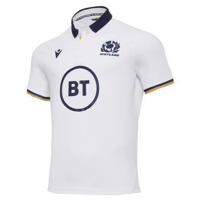 Scotland Poly Alternate Rugby Shirt S/S 2021 - Front