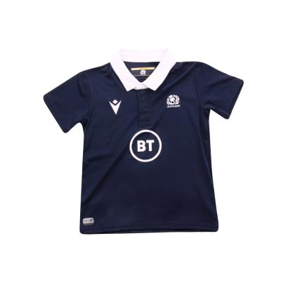 Scotland Toddler Poly Home Rugby Shirt S/S 2021 - Front