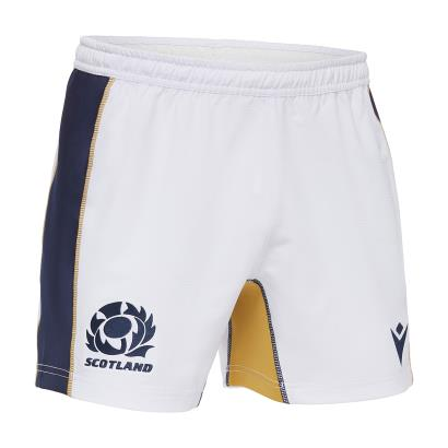 Scotland Home Rugby Shorts 2021 - Front