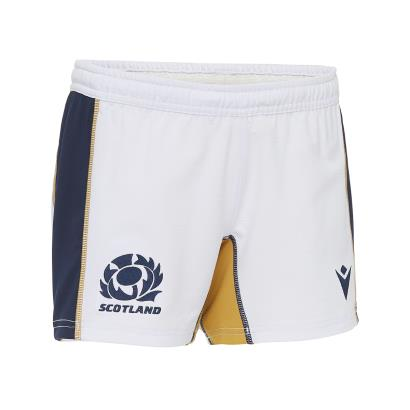 Scotland Home Rugby Shorts Kids 2021 - Front