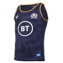 Scotland Training Singlet Navy 2021 - Front