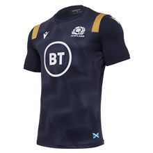 Scotland Training Tee Navy 2021 - Front