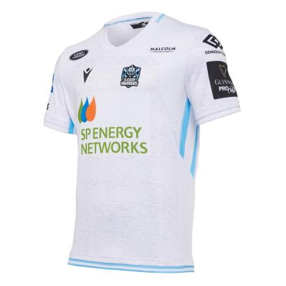 Glasgow Warriors Poly Alternate Rugby Shirt S/S 2021 - Front