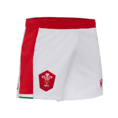 Wales Home Rugby Shorts 2021 - Front