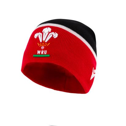 Wales Beanie Red 2021 - Front