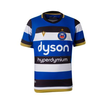 Bath Poly Home Rugby Shirt S/S Kids 2021 - Front
