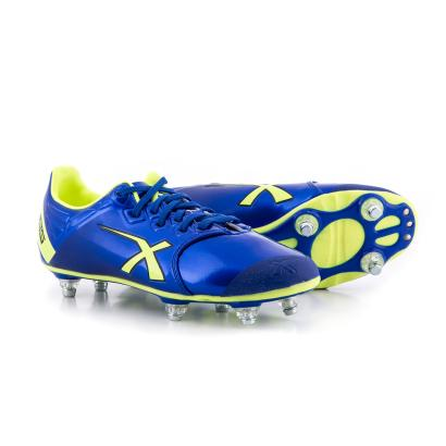 X Blades Sniper Speed Boots Electric Blue - Front