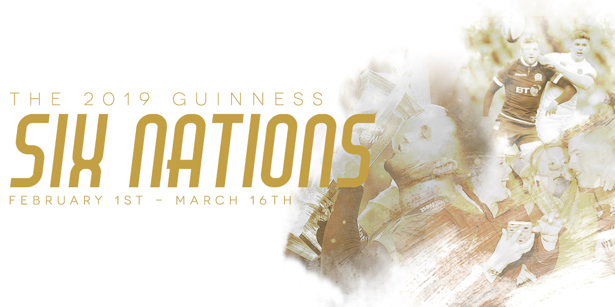 The 2019 Guinness Six Nations - SHOP NOW!