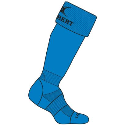 Gilbert Teamwear Kryten II Socks Royal - Front