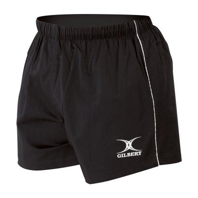 Gilbert Match Shorts Black - Front