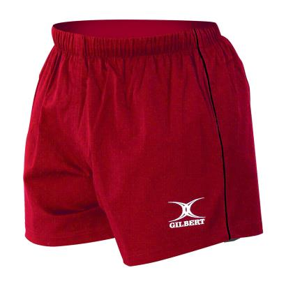Gilbert Match Shorts Red - Front