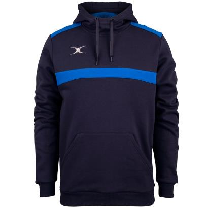 Gilbert Teamwear Photon Pullover Hoodie Navy/Royal - Front