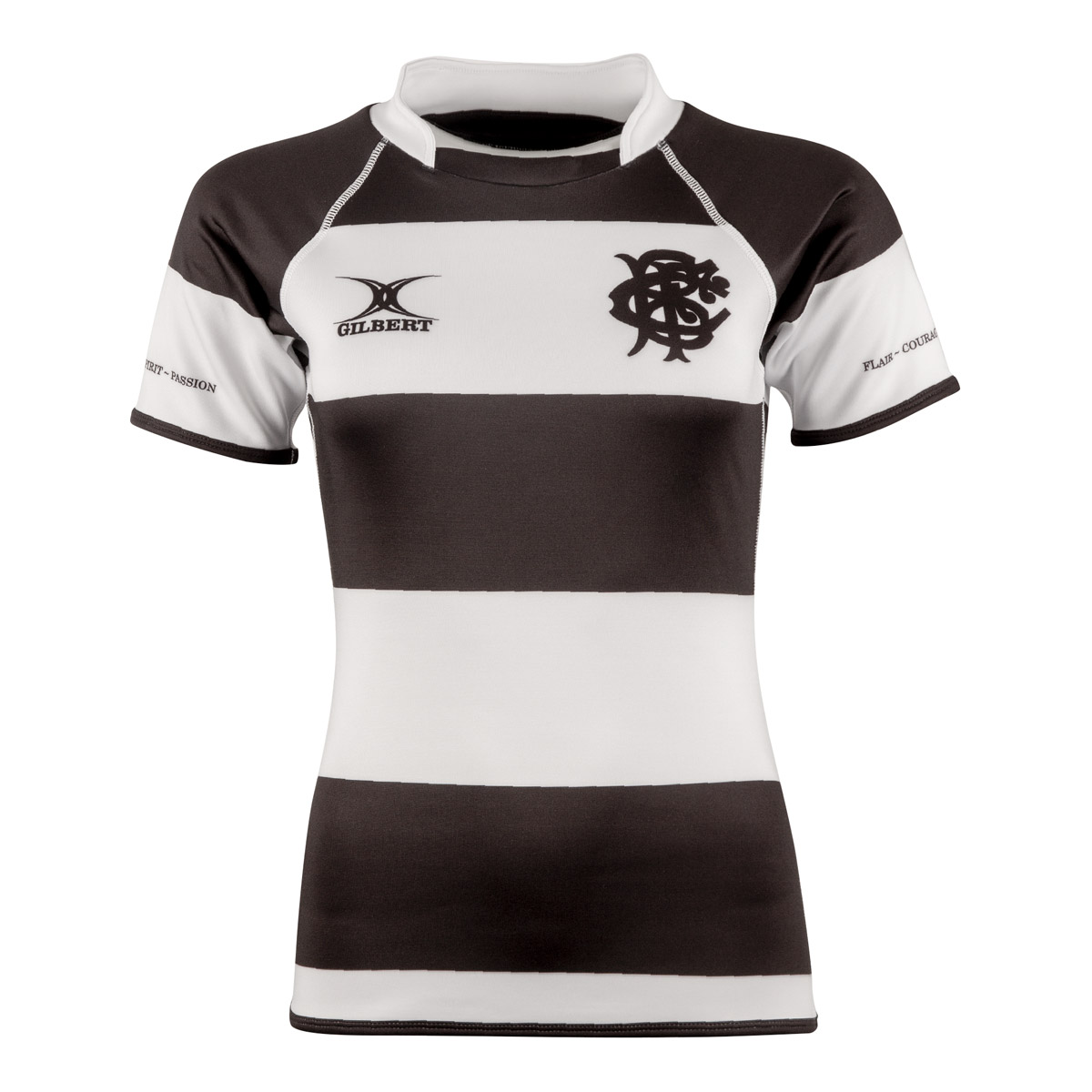 03fc5f39c5b ... Barbarians Womens Players Edition Rugby Shirt S/S - Front ...