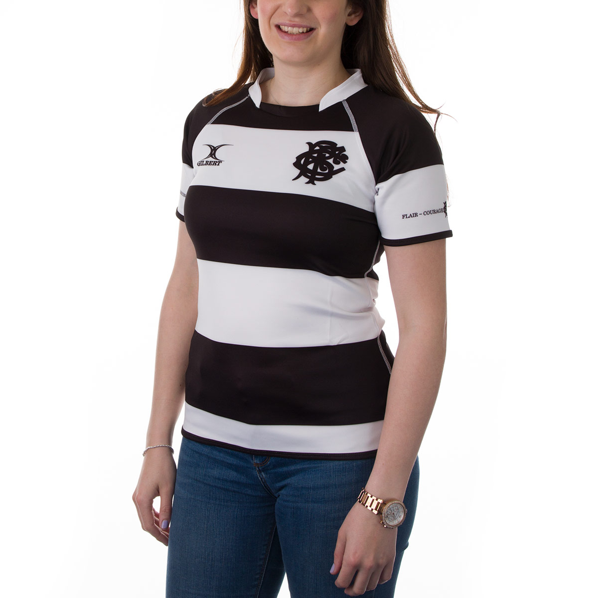 908e8194283 Womens Barbarians Players Edition Rugby Shirt (Short Sleeved ...