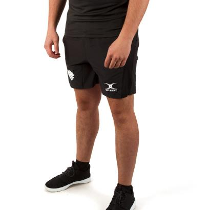 Barbarians Gym Shorts Black model 1