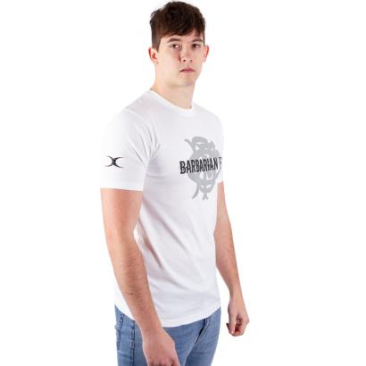 Barbarians Quest Tee White model 1