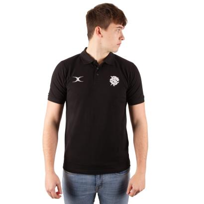 Barbarians Quest Polo Black model 1