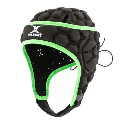 Gilbert Falcon Headguard Black Kids - Front