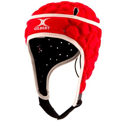 Gilbert Falcon Headguard Red Kids - Front