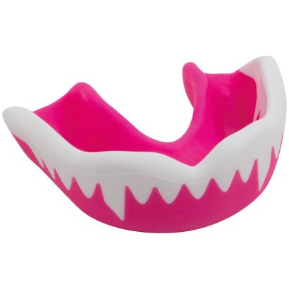 Gilbert Synergie Viper Mouthguard Pink/White - Front