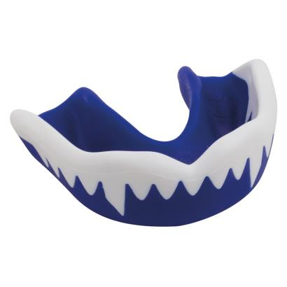 Gilbert Synergie Viper Mouthguard Blue/White - Front