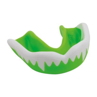 Gilbert Synergie Viper Mouthguard Green/White - Front