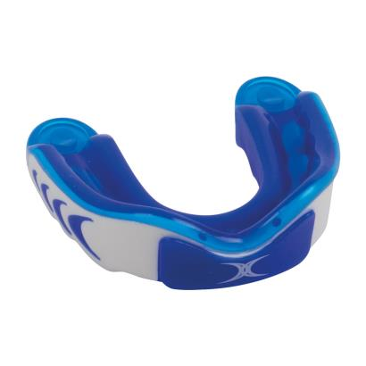 Gilbert Virtuo 3DY Mouthguard Blue/White - Front