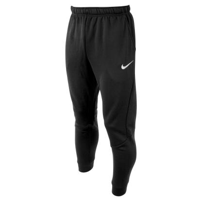 Nike Tapered Fleece Pants Black - Front 1
