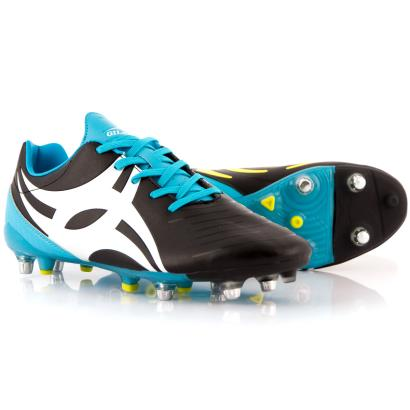 Gilbert Ignite Touch Rugby Boots Black - Front