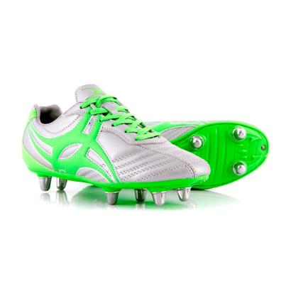 Gilbert Sidestep XV Rugby Boots Silver Kids - Front