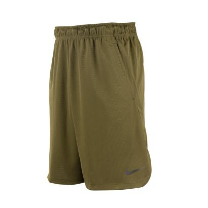 Nike Dri-Fit 4.0 Shorts Olive Canvas - Front 1