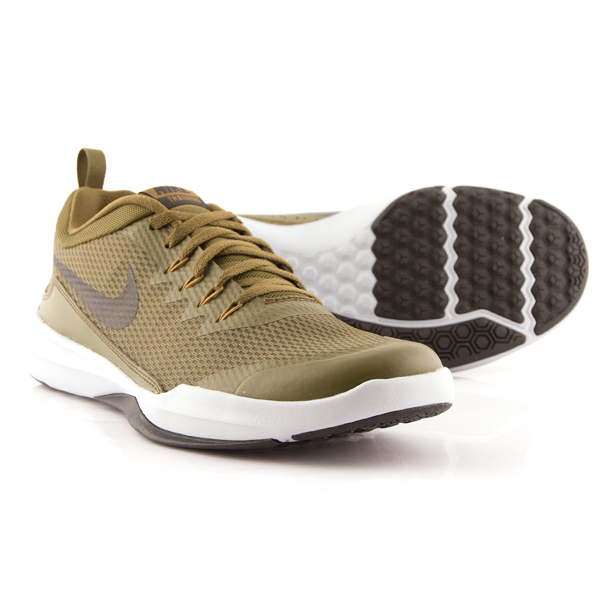 eb80f5d0732b5 Mens Olive Canvas Nike Legend Trainers | rugbystore