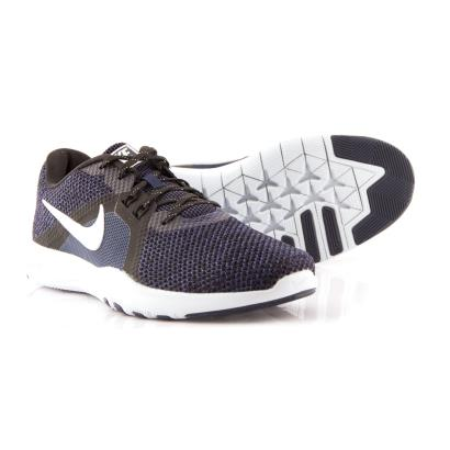 Nike Womens Flex Trainers College Navy - Front