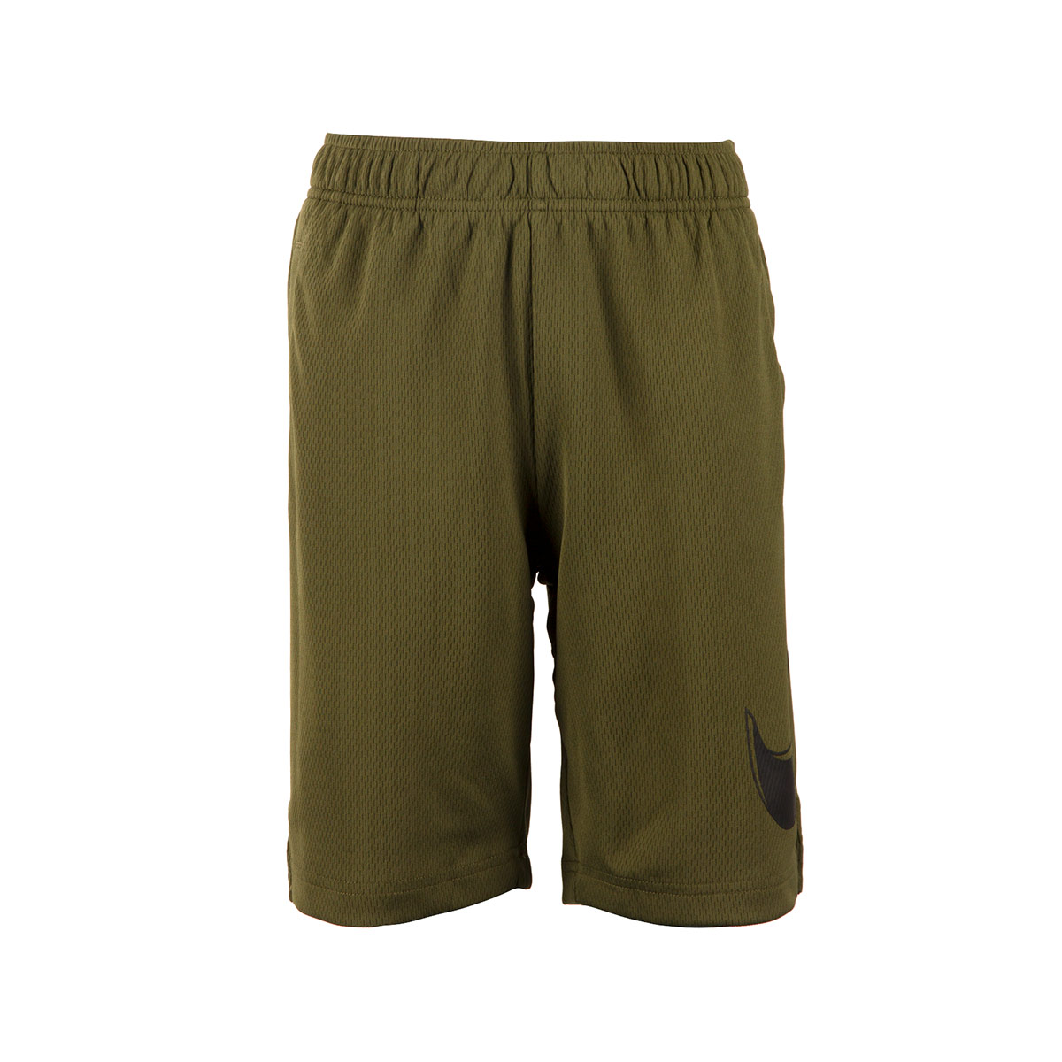 927dd24866e59 ... Nike Dri-Fit Shorts Olive Canvas Kids - Front 3 ...