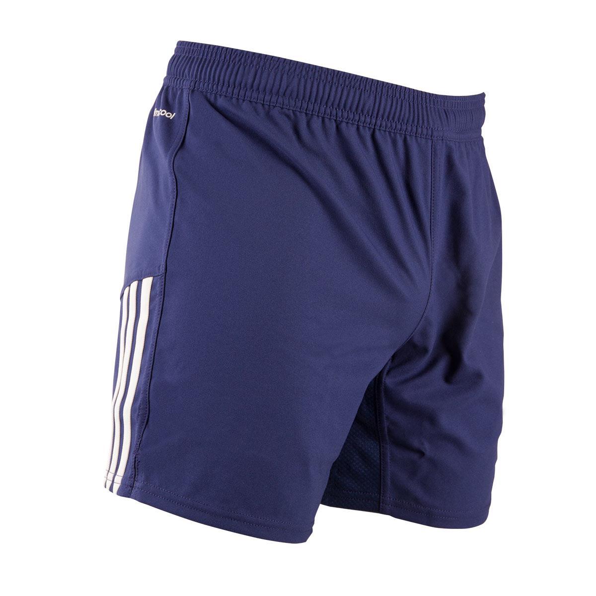 Decisión herir Península  Mens Navy adidas 3 Stripe Rugby Shorts | rugbystore