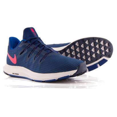 Nike Quest Trainers Blue Void - Front