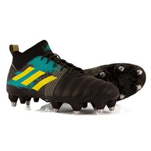 adidas Kakari X Kevlar SG Rugby Boots Core Black - Front
