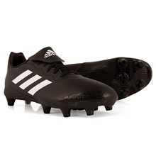 adidas Rumble SG Rugby Boots Core Black - Front NEW