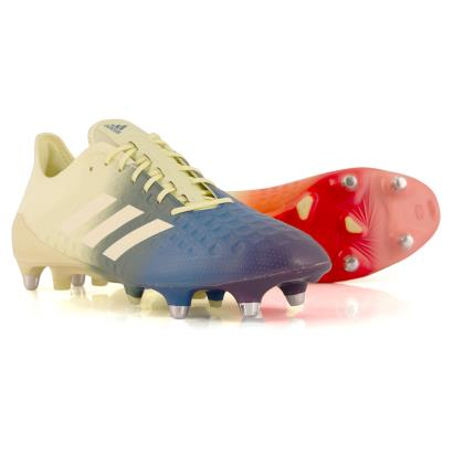 adidas Predator Malice Control SG Rugby Boots Ice Yellow - Front