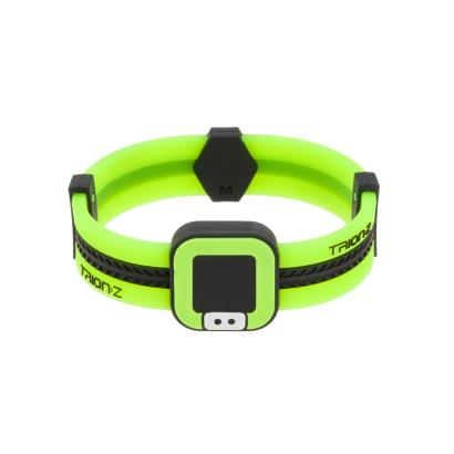 Trion:Z Acti-Loop Bracelet Black/Lime - Front